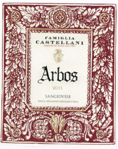 爱堡仕干红Famiglia Castellani Arbos