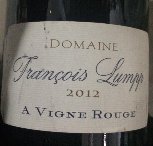 弗朗索瓦兰坡酒庄阿维尼红葡萄酒Domaine Francois Lumpp Givry 1er Cru A Vigne Rouge