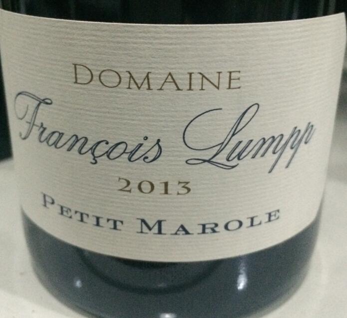 弗朗索瓦兰坡小马尔乐干红Domaine Francois Lumpp Petit Marole Rouge Givry Premier Cru