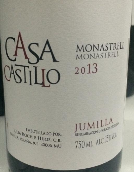 卡斯蒂城堡干红Casa Castillo Jumilla Monastrell