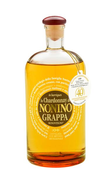 Nonino Lo Chardonnay Grappa 40th Anniversary