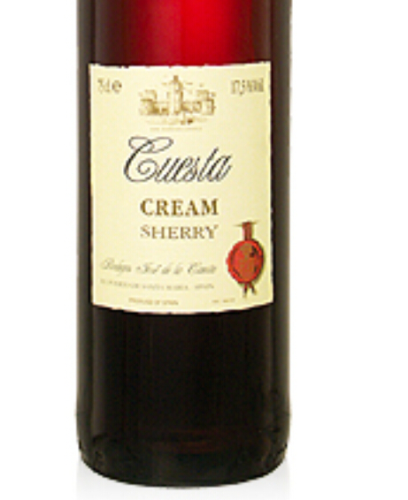 Bodegas Jose de la Cuesta Cream Sherry