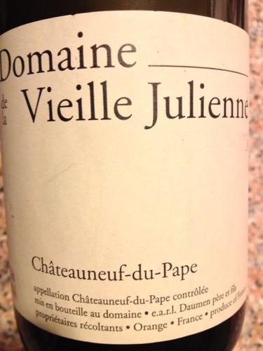 Domaine de la Vieille Julienne Chateauneuf-du-Pape
