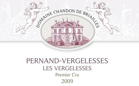 尚都柏怡佩尔南韦热莱斯一级葡萄园干红Domaine Chandon de Briailles Les Vergelesses