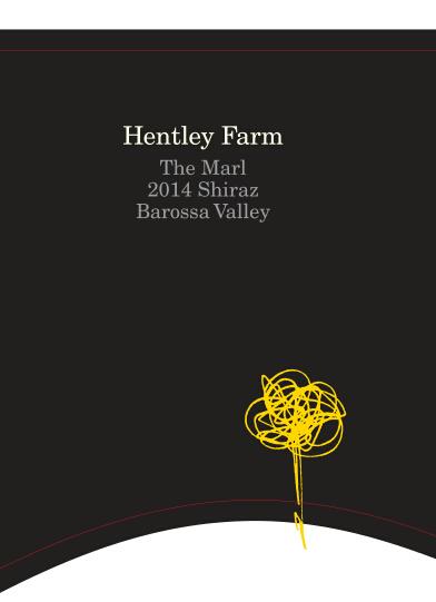亨特利酒庄黑猫西拉子红葡萄酒Hentley Farm 'The Marl' Shiraz