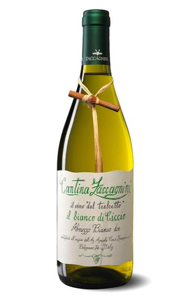 Cantina Zaccagnini il vino 'dal tralcetto' Bianco di Ciccio Colline Pescaresi