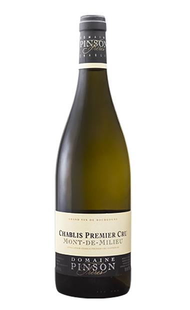 鹏逊夏布利中山园白葡萄酒Domaine Pinson Chablis 1er Cru Mont de Milieu
