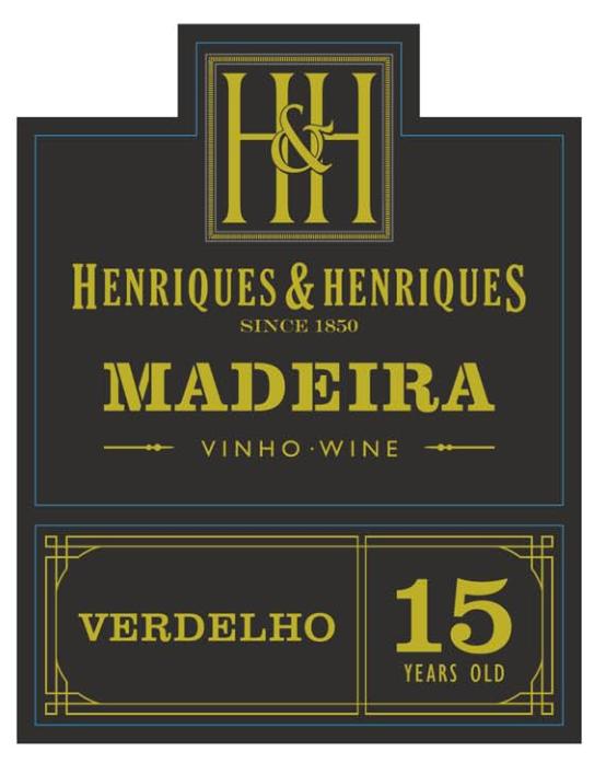 亨瑞克马德拉15年华帝露利口葡萄酒H&H Mad.Wine Verdelho 15YO AQ