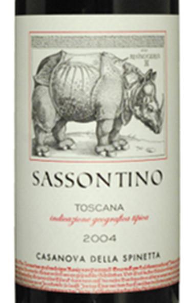 诗培纳萨索尼诺托斯卡纳红葡萄酒La Spinetta Sassontino Toscana