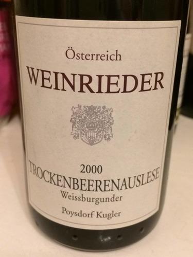 Poysdorfer Kugler Österreich Eiswein Weissburgunder