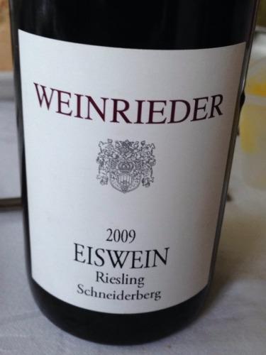 Eiswein Schneiderberg Riesling