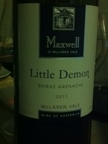 麦克斯韦小精灵GS混酿干红Maxwell Little Demon Shiraz Grenache