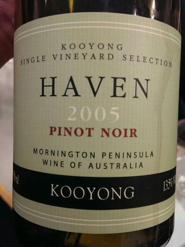 Mornington Peninsula Massale Pinot Noir