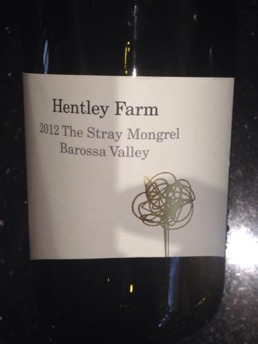 亨特利酒庄单独混酿干红Hentley Farm The Stray Mongrel
