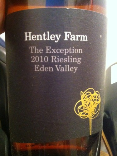Hentley Farm The Exception Riesling