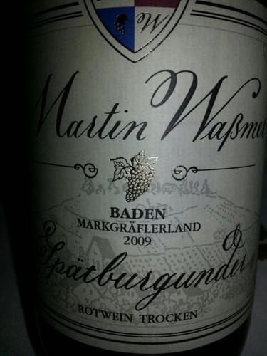 Markgräflerland Baden Rotwein Spätburgunder Trocken