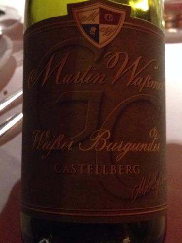 Castellberg Weisser Burgunder