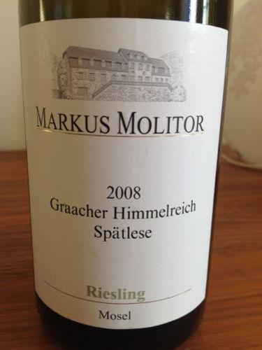 Markus Molitor Graacher Himmelreich Riesling Spätlese