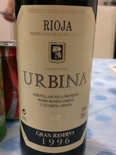 乌碧娜格兰陈酿红葡萄酒URBINA Red Gran Reserva Especial