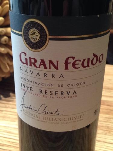 Gran feudo Reserva Navarra