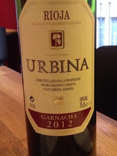 Rioja Urbina Gran Reserva