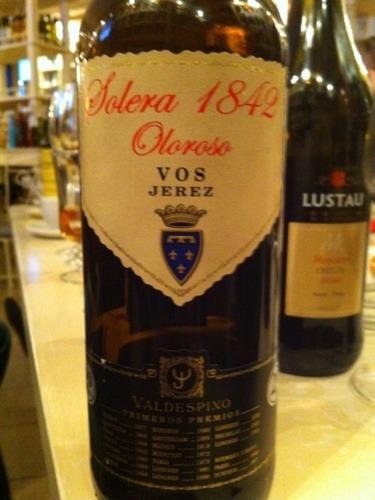 Jerez-Xérès-Sherry Solera 1842 Oloroso