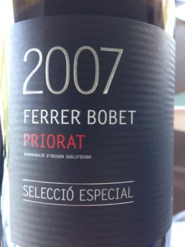 费瑞尔博贝特精选特酿红Ferrer Bobet Seleccio Especial