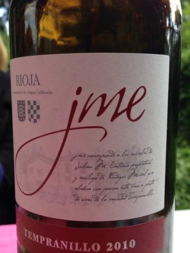 Rioja Jme Tempranillo