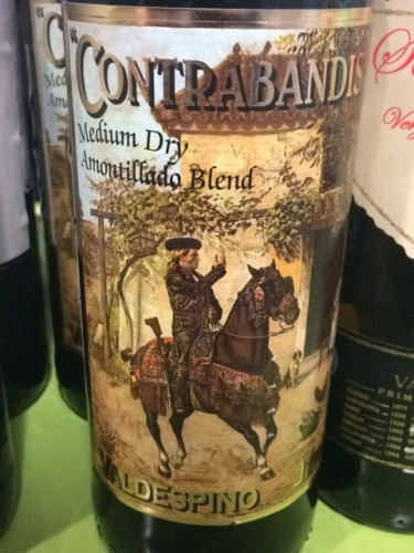 Contrabandista Medium Dry Amontillado Blend