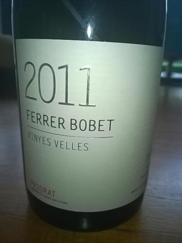 费雷博贝特白标干红Ferrer Bobet Priorat Vinyes Velles