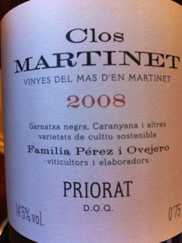 Priorat Clos Martinet