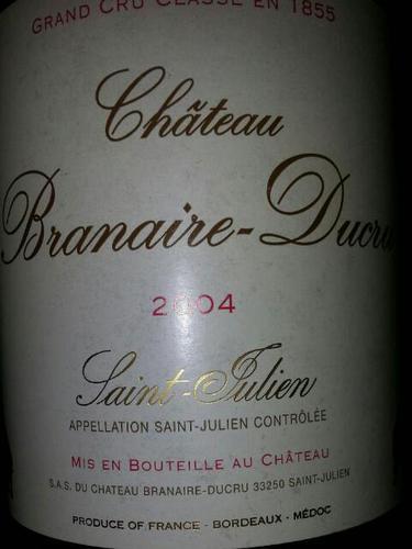 班尼杜克酒庄干红Chateau Branaire-Duluc