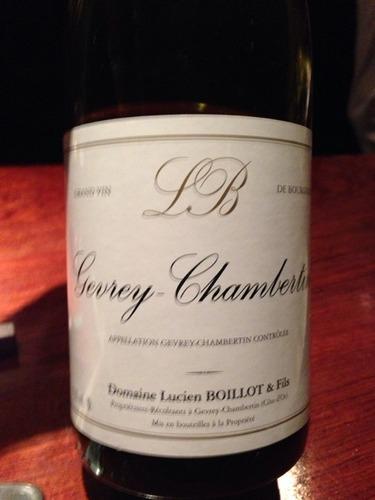 吕西安波悦热夫雷香贝天红葡萄酒Domaine Lucien Boillot & Fils Gevrey Chambertin