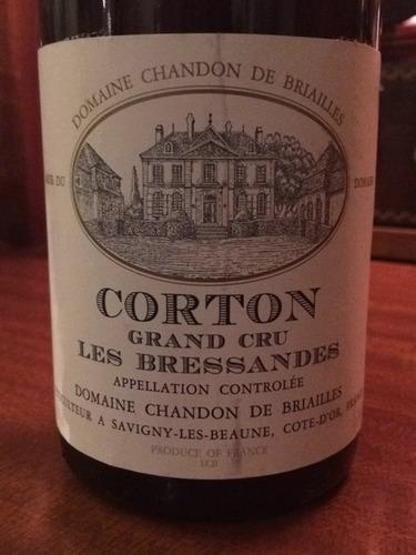 Domaine Chandon de Briailles Corton Les Bressandes