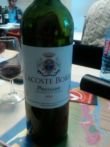 拉古斯酒庄副牌干红Lacoste Borie