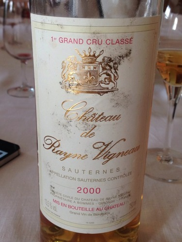 海内威农庄园贵腐甜白Chateau de Rayne Vigneau