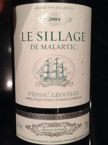 马拉狄喜乐辑干白Le Sillage de Malartic Blanc