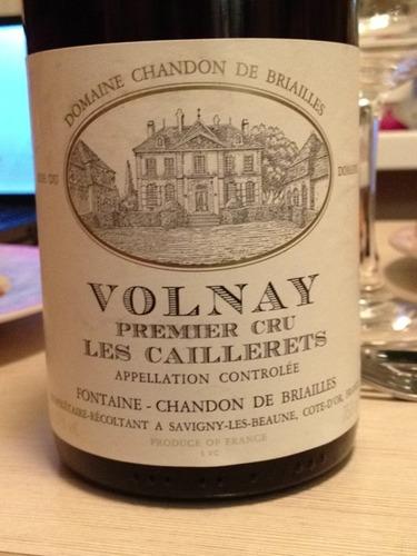 Les Caillerets Volnay Premier Cru