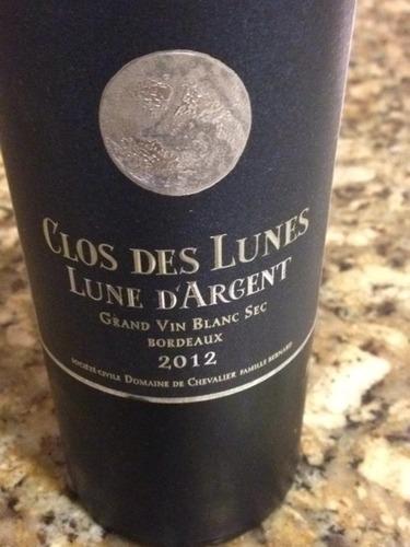 Bordeaux Lune D'Argent Blanc Sec