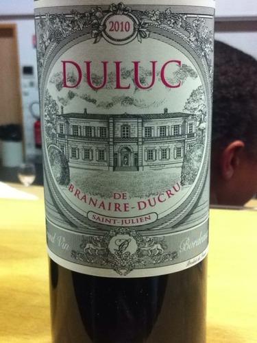 班尼杜克酒庄副牌干红Duluc de Branaire-Ducru