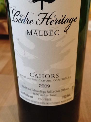 Hermitage Cahors Malbec
