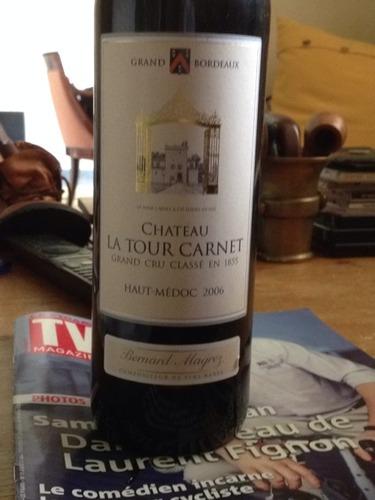拉图嘉利酒庄干红Chateau La Tour Carnet Rouge