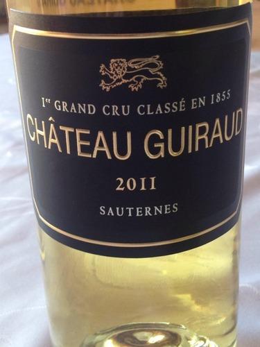 芝路庄园苏玳一级园甜白Chateau Guiraud sauternes 1er Cru