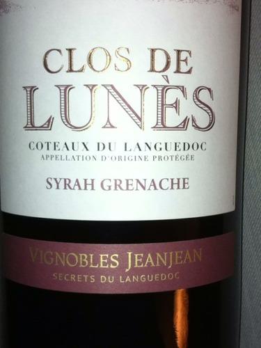 Coteaux Du Languedoc Syrah Grenache