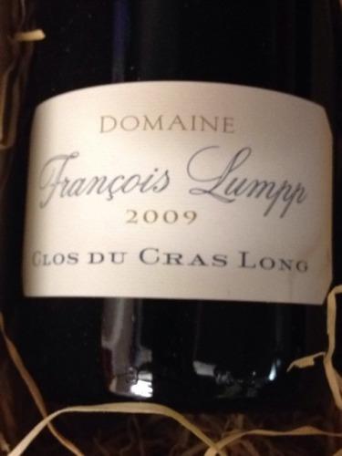 弗朗索瓦兰坡酒庄卡隆红葡萄酒Domaine Francois Lumpp Givry 1er Clos du Cras Long
