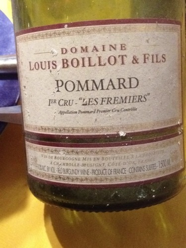 Domaine Louis Boillot Les Fremiers