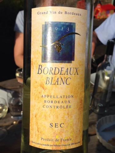 Le Sec de Bordeaux Blanc Sec