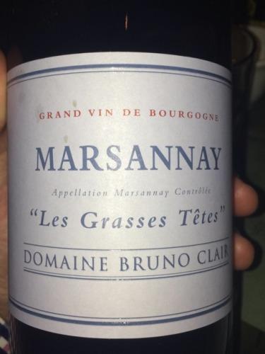 Les Grases Têtes Marsannay