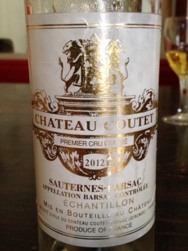 古岱酒庄贵腐甜白Chateau Coutet