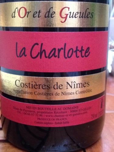 La Charlotte Costières De Nîmes